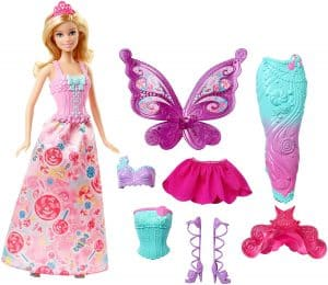 Fairy tale dress up doll.
