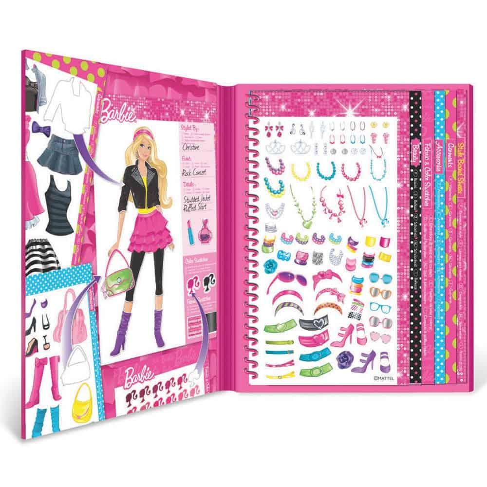 Barbie fashion angels sticker stylist.
