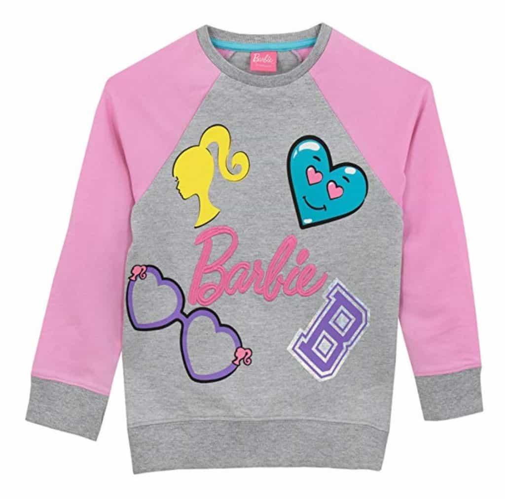 Barbie girls sweatshirt.