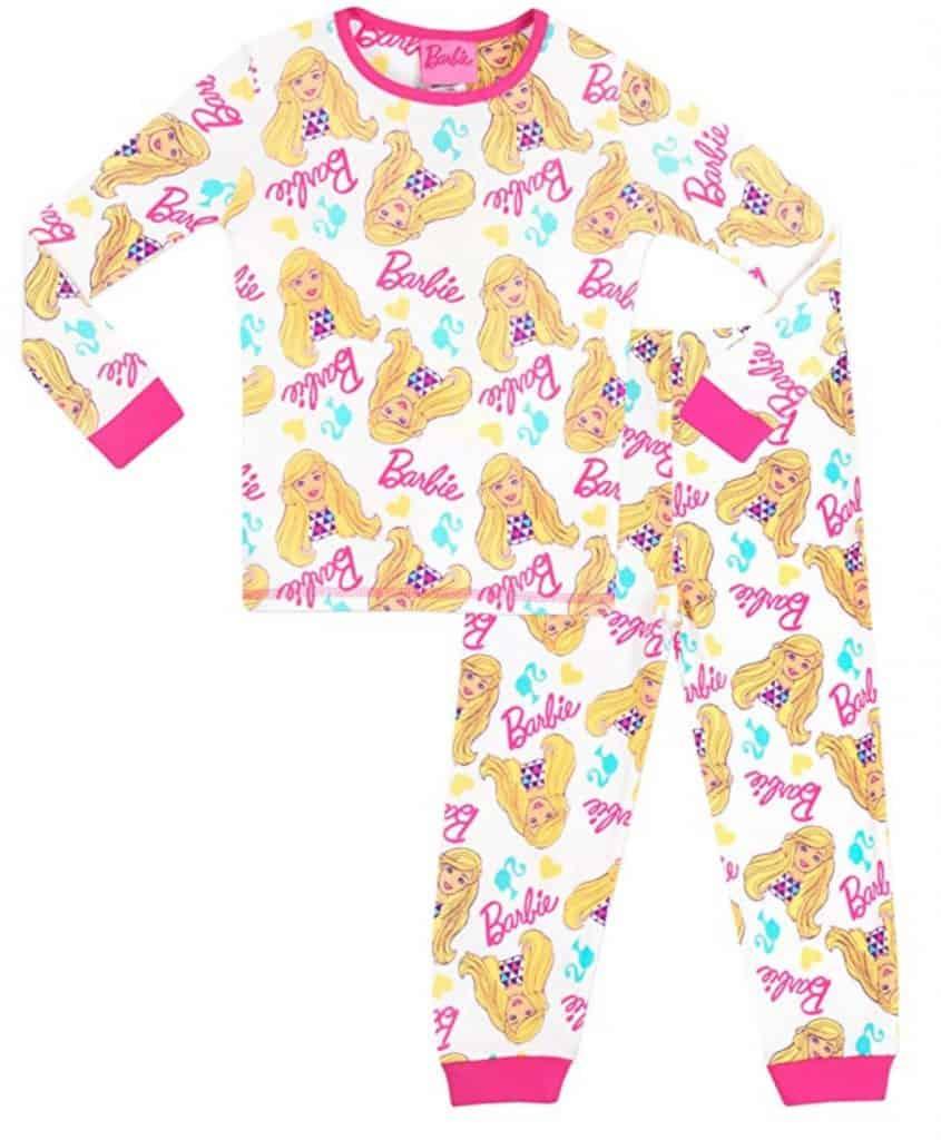 Barbie girls pajama set.