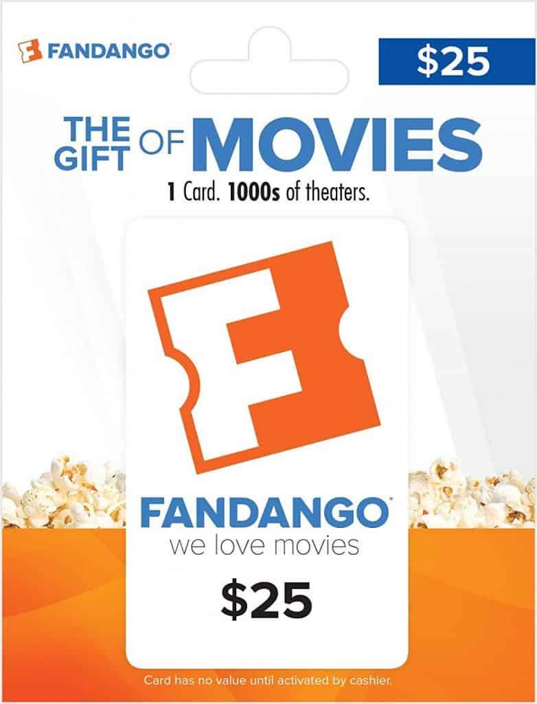 Fandango gift card.