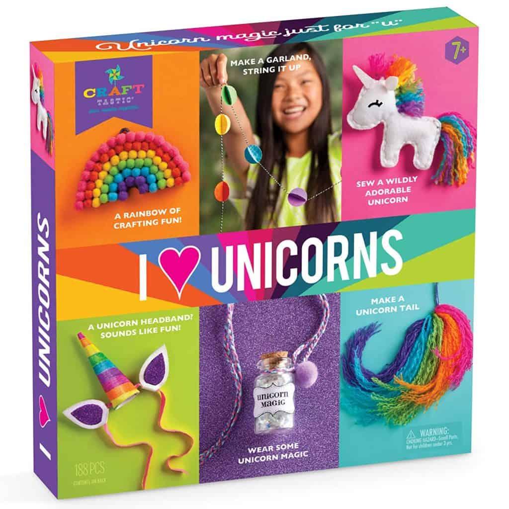 Kraft-tastic unicorn craft kit.