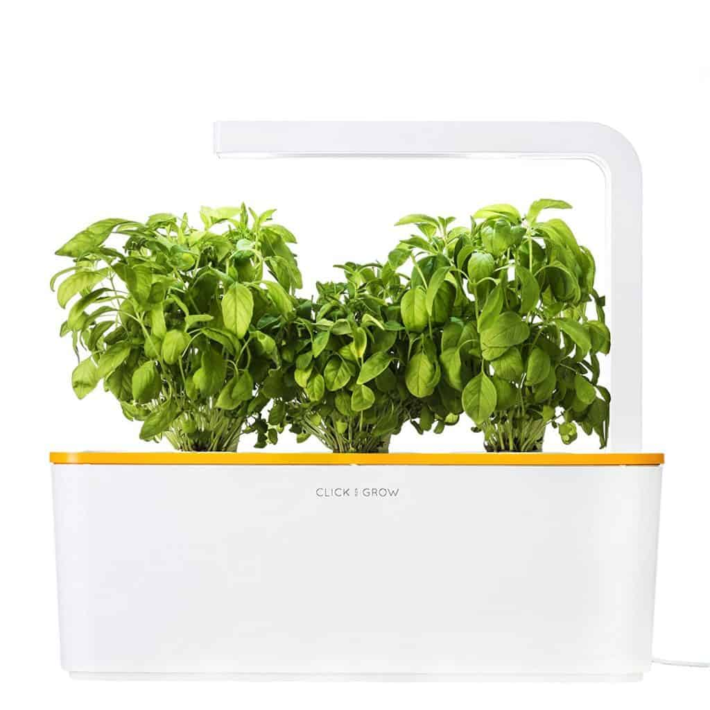 Click and grow indoor herb garden.