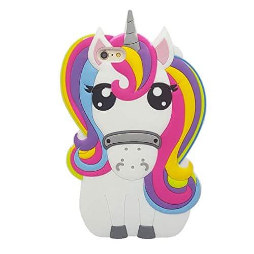 3D unicorn iPhone 6 case.