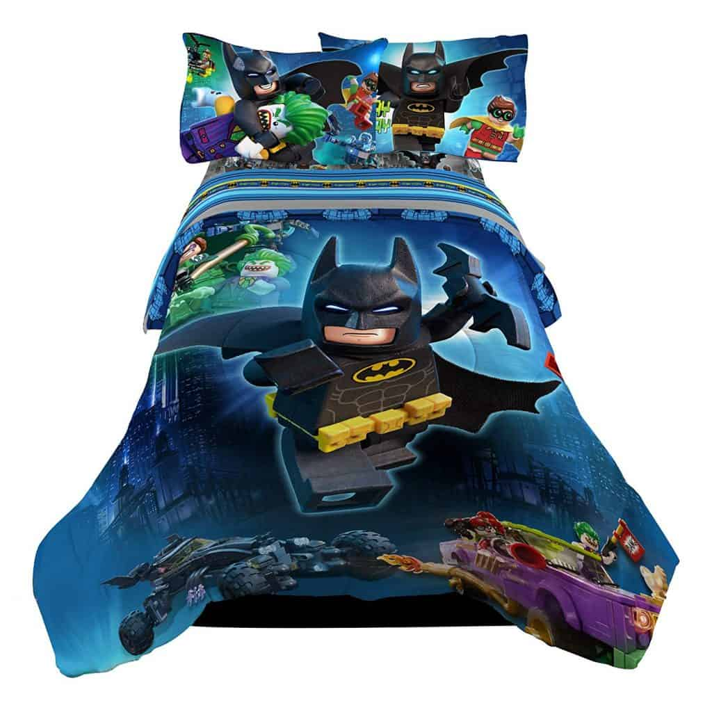 Lego batman bedding set.