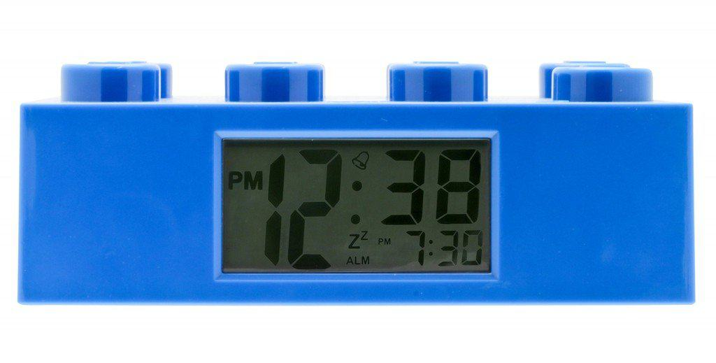 lego brick clock