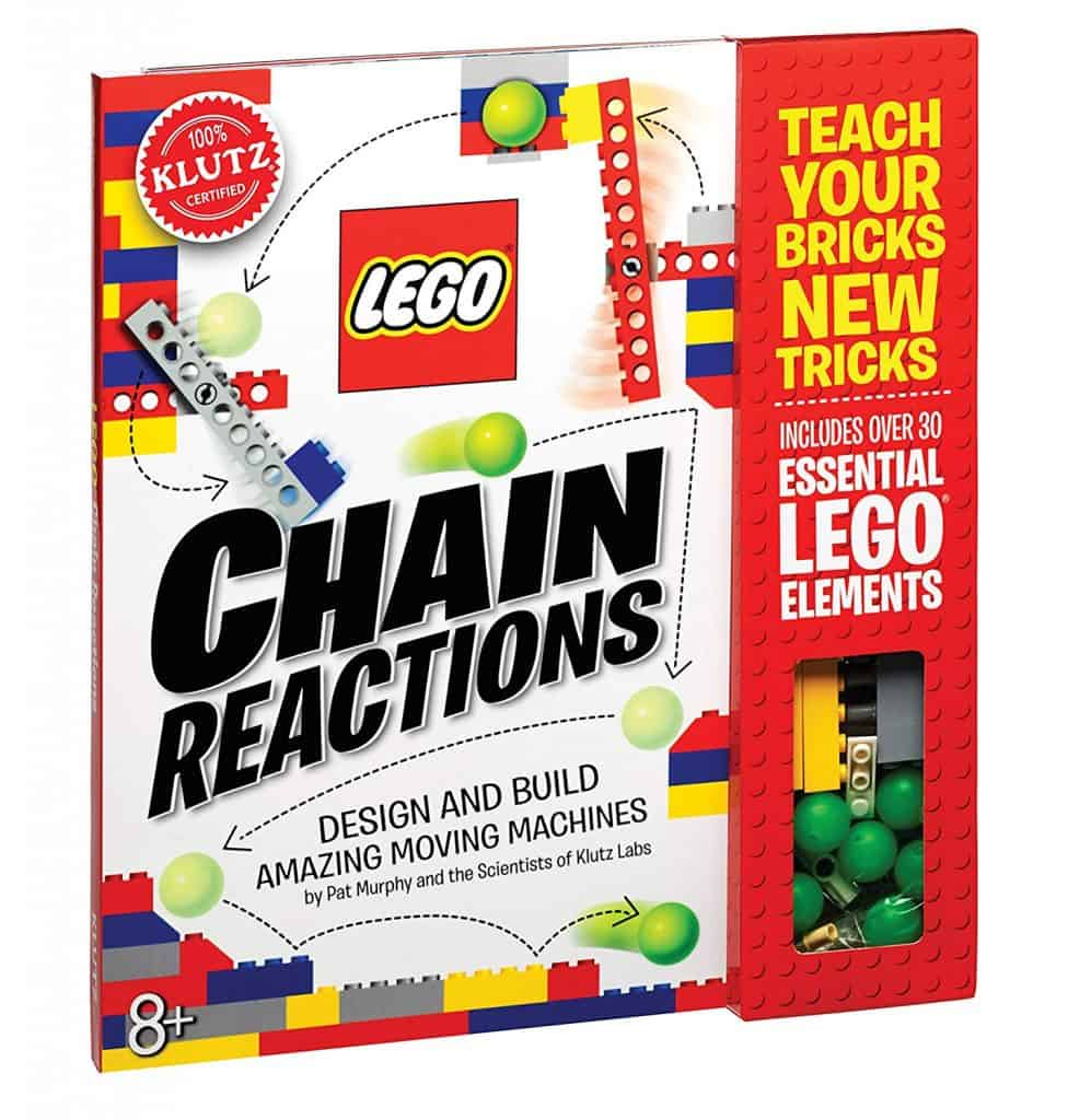 lego chain reactions science and building kit