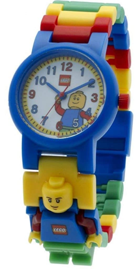 kids minifigure build-able watch.