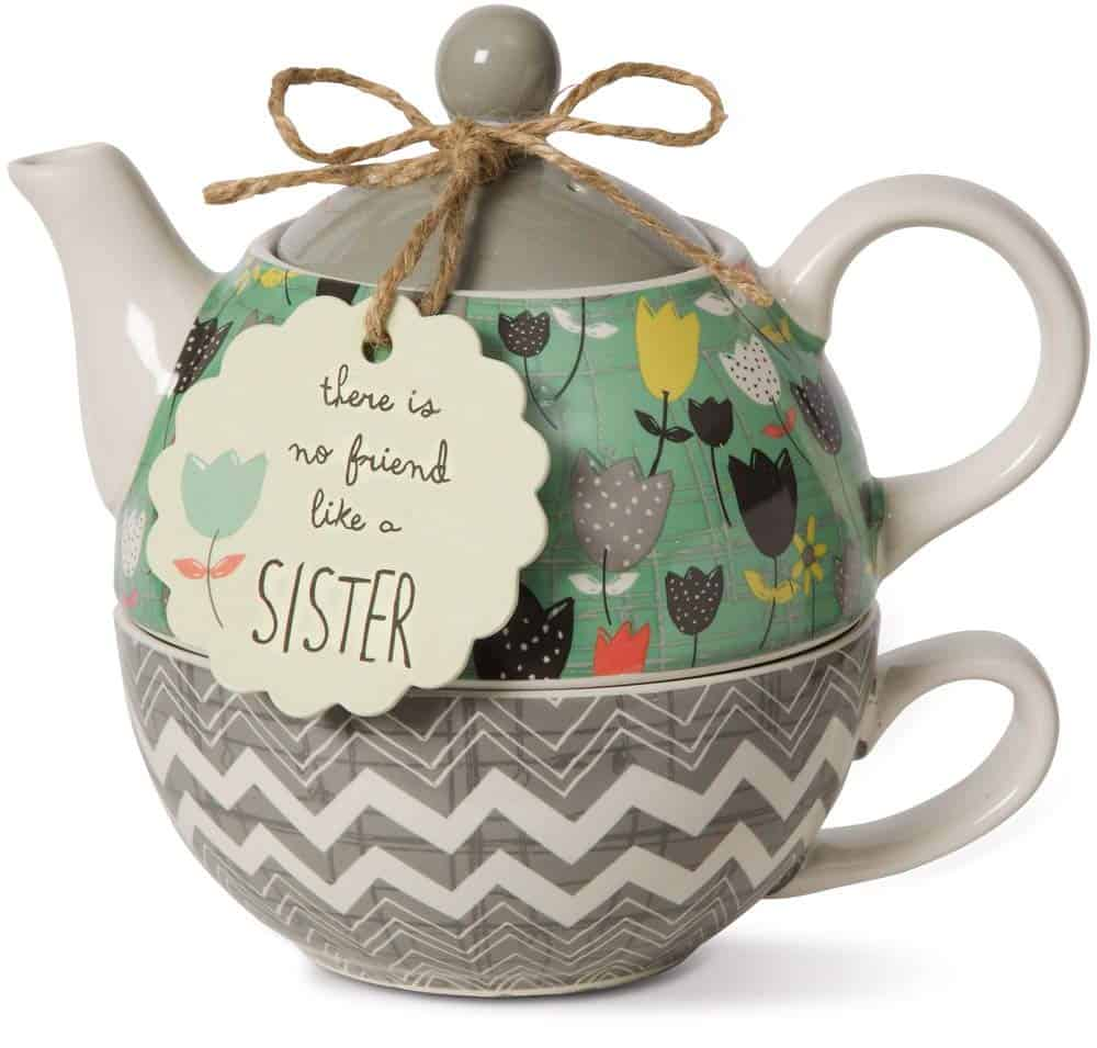 Pavilion company ceramic sisters tea set