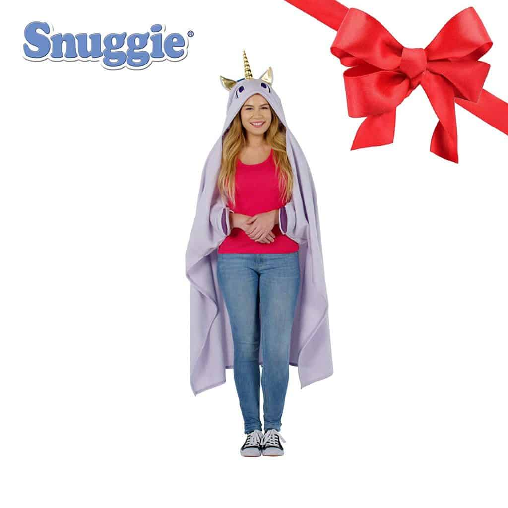 Unicorn snuggie blanket.