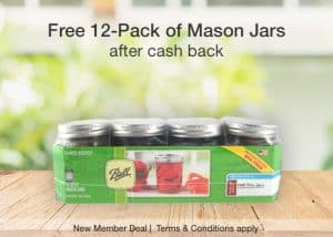 Free Ball Mason Jars 12-Pack