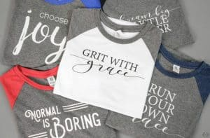 Inspirational Quote Shirts Sale 50% Off