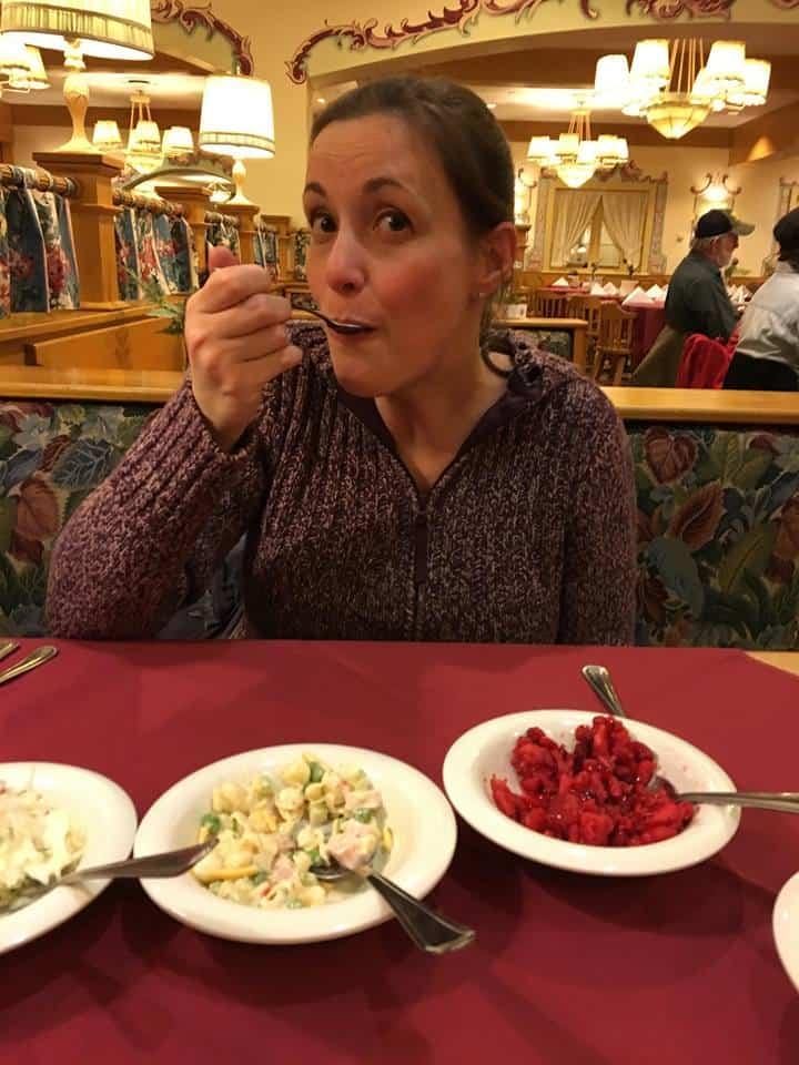 Kristie from Saving Dollars and Sense at Bavarian Inn Frankenmuth