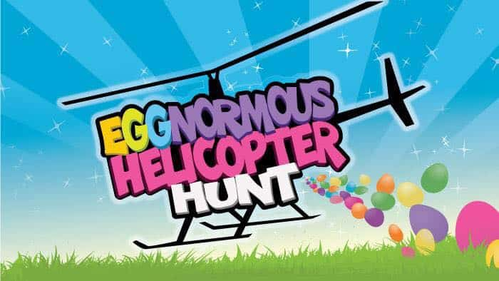 Eggnormous helecopter hunt.