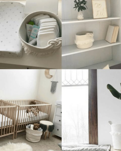 Free Decorative Basket from Pillowfort
