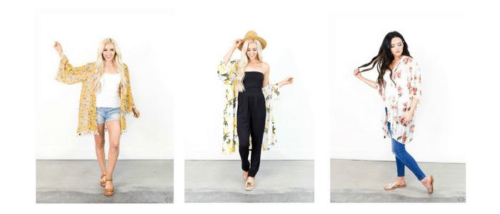Kimonos on Sale 40% Off