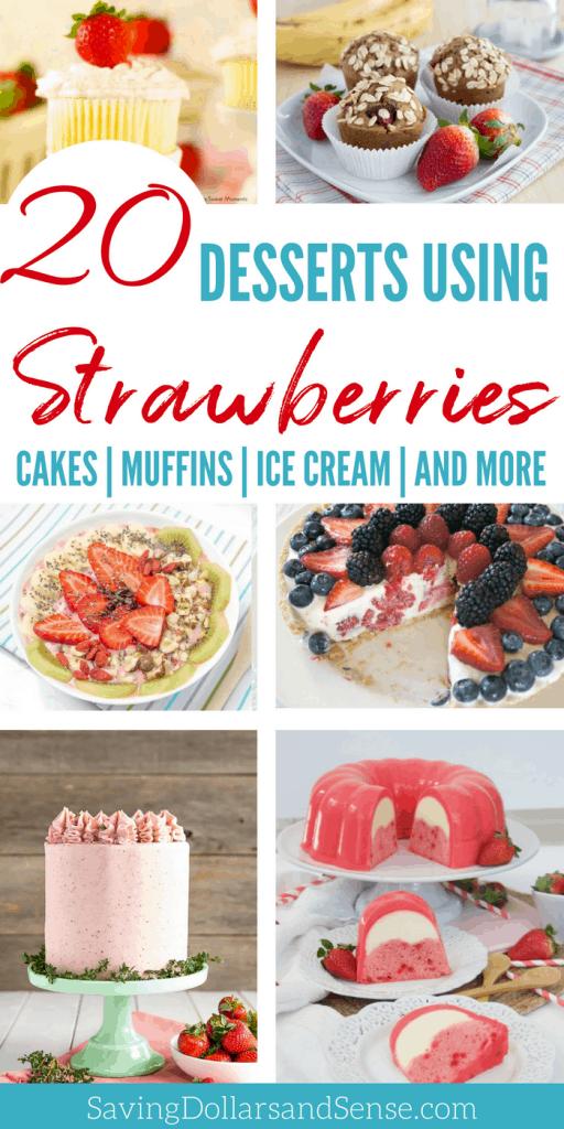 Easy Strawberry Desserts