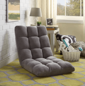 Soft Foldable Reclining Floor Chair $54.99 (Was $289)