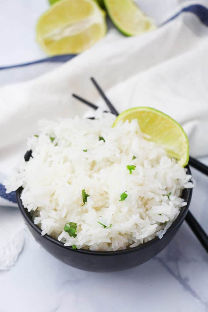 cilantro lime rice in the instant pot