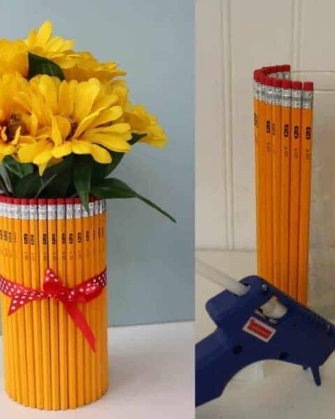 Teacher Appreciation Gift Pencil Vase