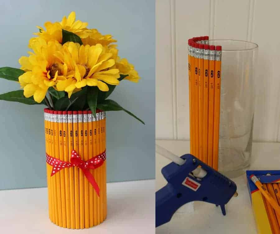 Teacher Appreciation Gift Pencil Vase Saving Dollars Sense