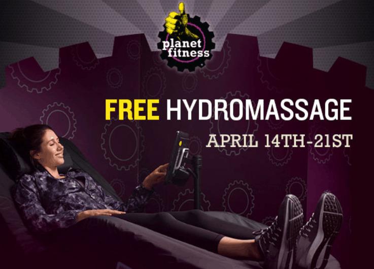 Planet Fitness Free Hydromassage