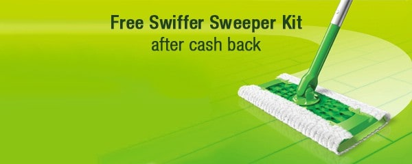 Free Swiffer Sweeper Starter Kit