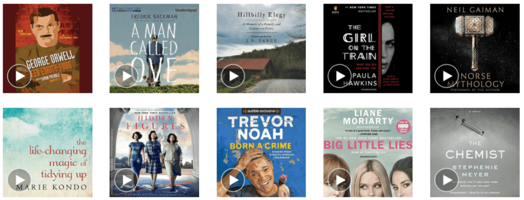 Get Two Free Audio books