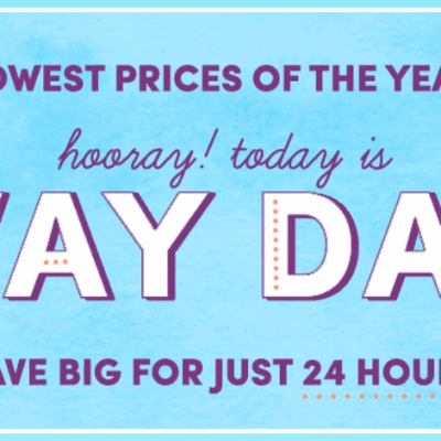 Wayfair Way Day Deals Up to 80% off TODAY ONLY!