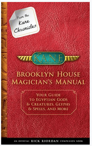 Brooklyn House Magician\'s manual. Your guide to Egyptian Gods and creatures.