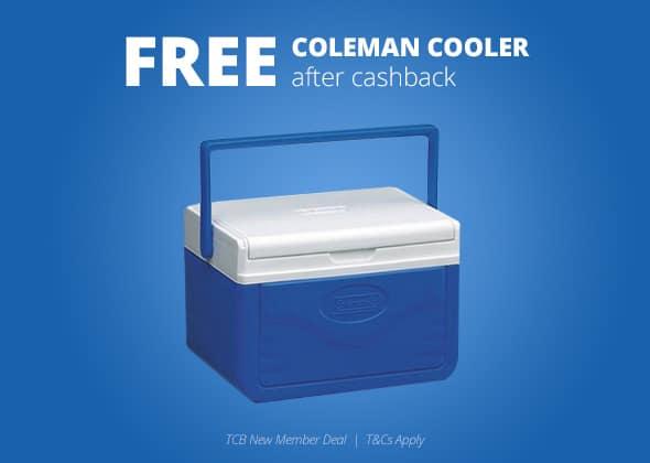 Grab This Free Coleman Cooler