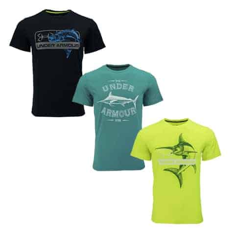 Under Armour Fishing Shirts