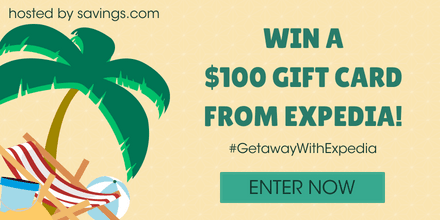 Expedia $100 Gift Card Giveaway