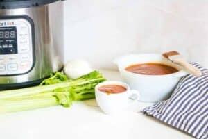 Instant Pot Barbecue Sauce Recipe