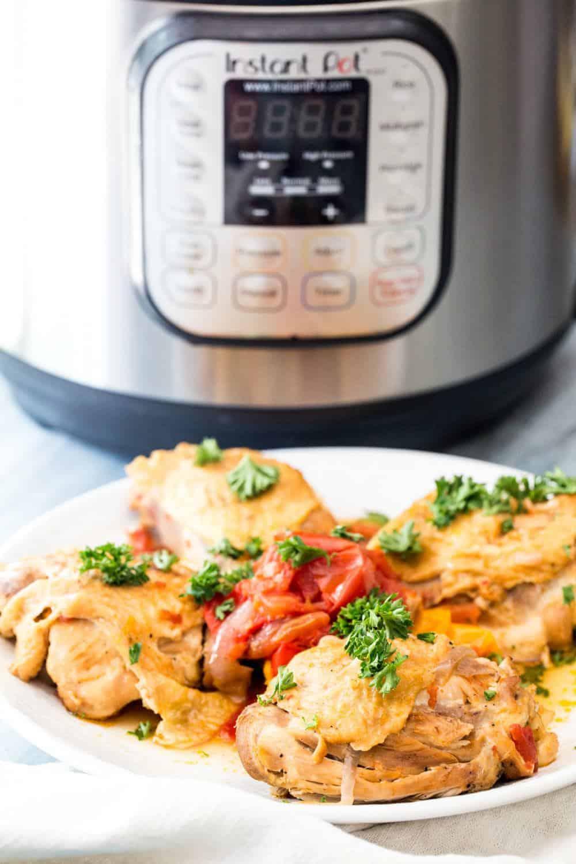 Instant Pot Chicken Cacciatore Recipe