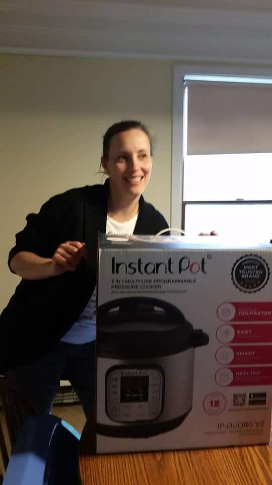 Kristie of Saving Dollars and Sense with her Instant Pot.