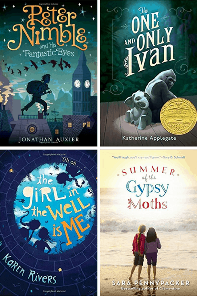 Books for young readers in juvenile fiction.