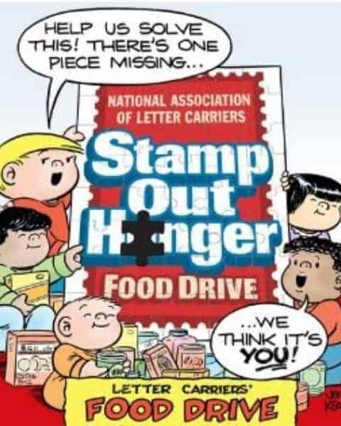 Post Office Food Drive Flyer