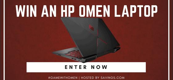 HP OMEN Gaming Laptop Giveaway