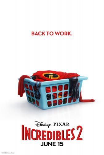 Movie poster of The Incredible\'s 2.