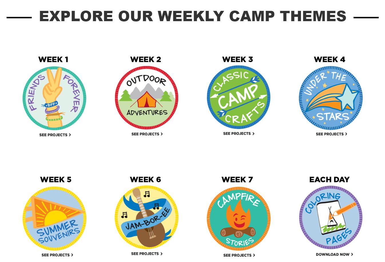 Michael\'s Camp Creativity for Kids