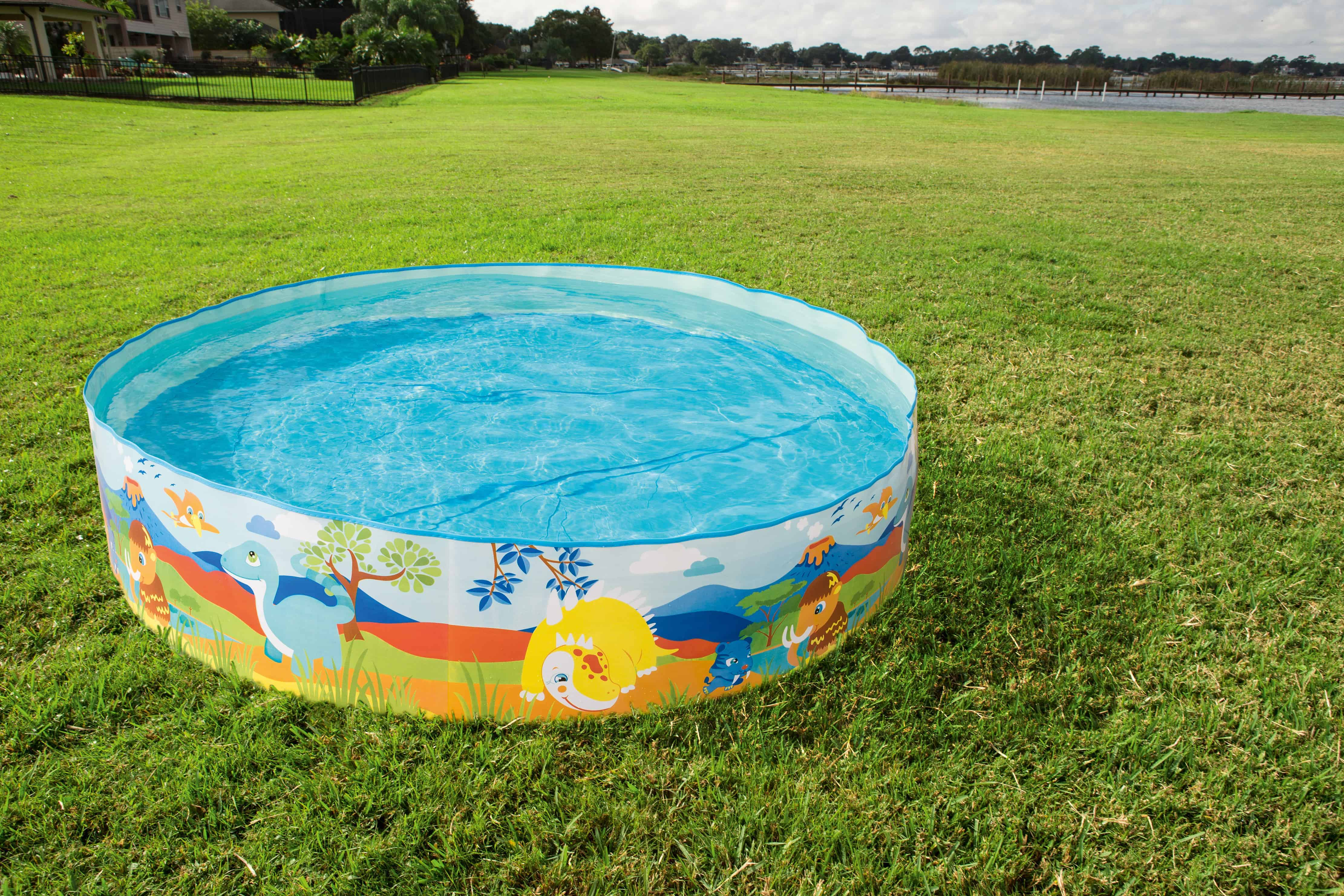 Free Dinosaur Fill \'N Fun Kiddie Pool