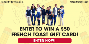 French Toast Gift Card Giveaway (Five Winners)