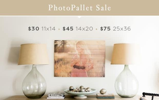 Photobarn PhotoPallets Summer Sale