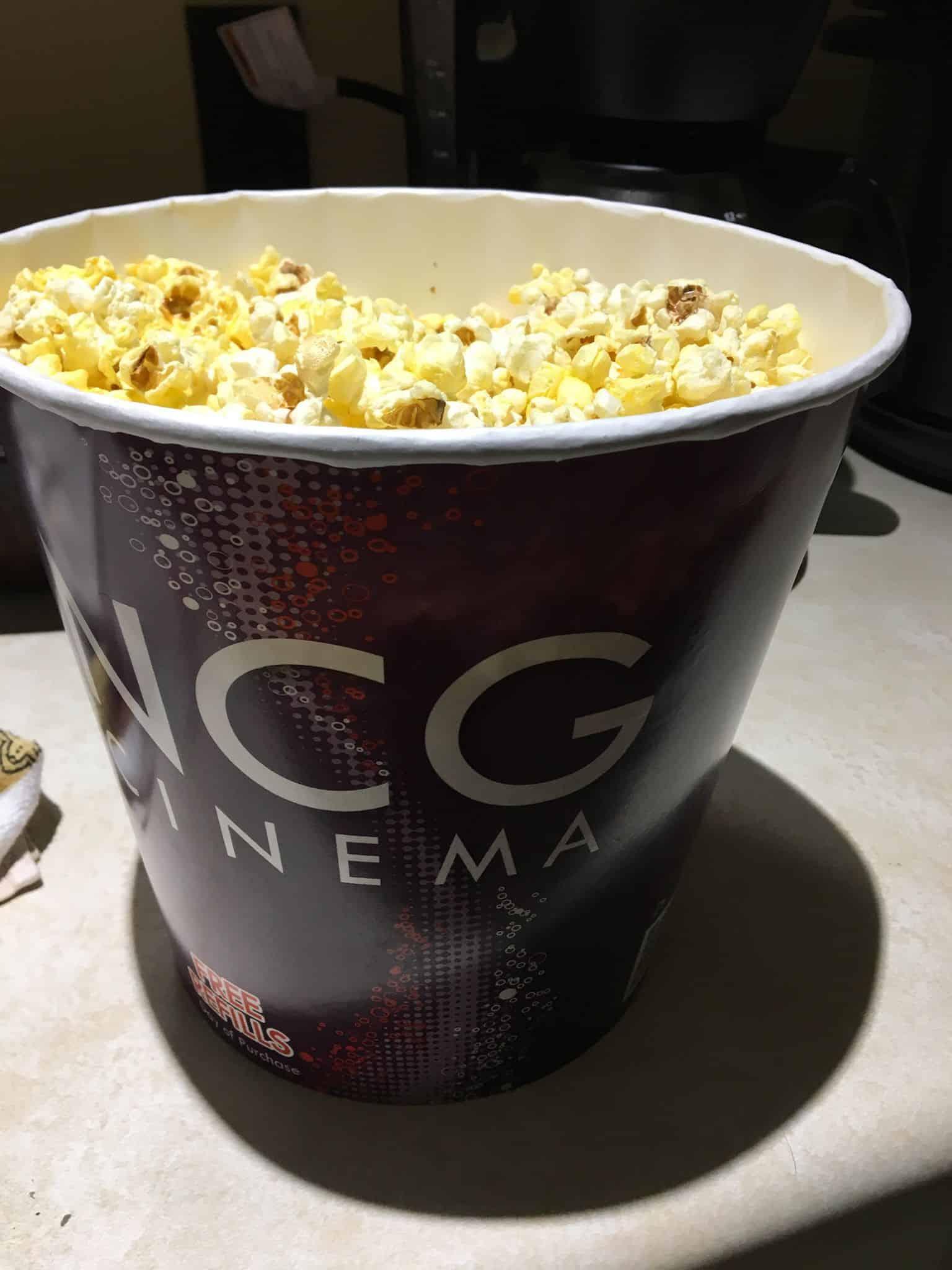 Popcorn refill.