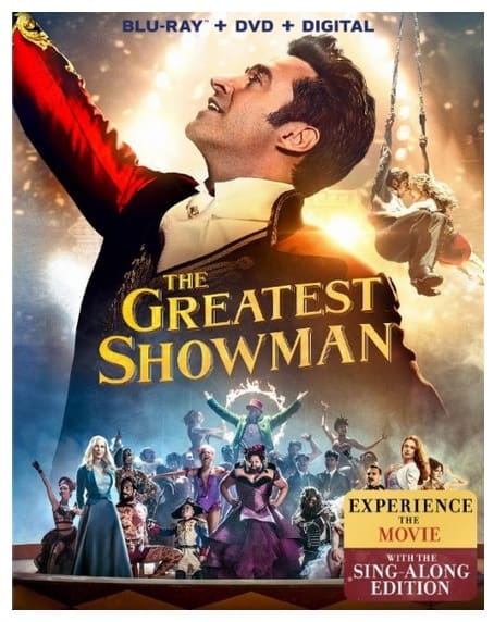 DVD and The Greatest Showman