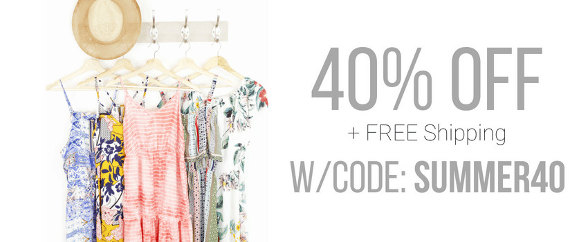 Summer Maxi Dress Sale