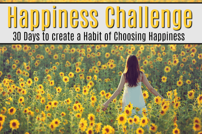 The happiness challenge to learn how to be happy.