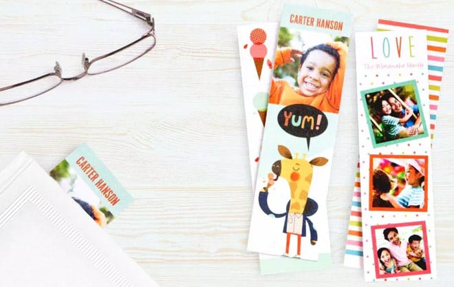 Get Four Free Custom Bookmarks from Walgreens