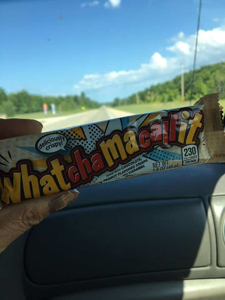A whatchamacallit candy bar.